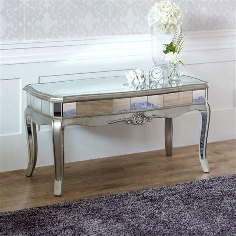 Range Coffee Table Mirrored Coffee Table Range Melody Maison 174
