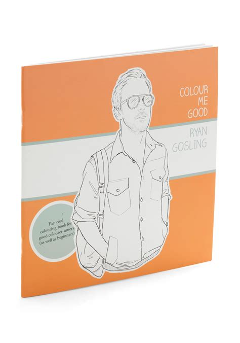 gosling coloring book colour me gosling coloring book mod retro