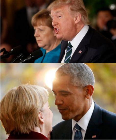 trump desk vs obama desk photos merkel with donald trump vs merkel with obama