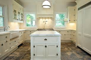 kitchen floors with white cabinets u shaped kitchen transitional kitchen bakes and company
