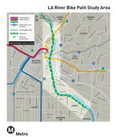 louisiana bicycle map los angeles river bike path gap closure project