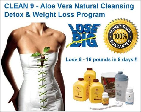 Does The Clean 9 Detox Work by Clean 9 Fitness Diet And Aloe Vera On