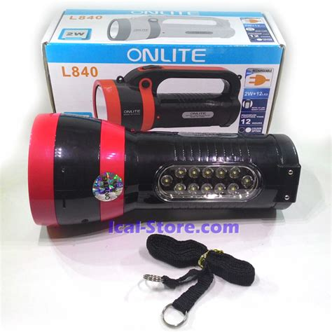 Lu Darurat Emergency Fitting Surya L2208 22 Led senter onlite l840 2w plus 12 led ical store