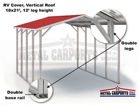 Build My Own Metal Carport Build Your Own Rv Cover Metal Carports Eagle Metal