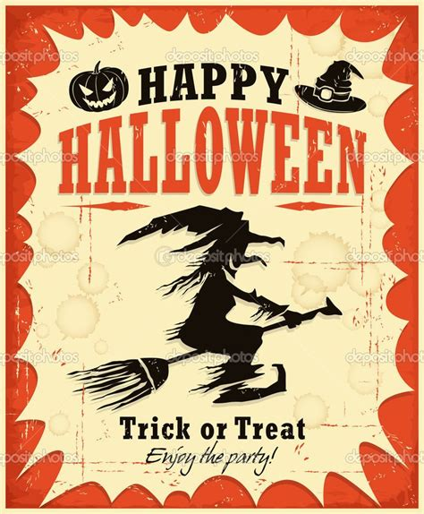 17 best ideas about vintage halloween posters on pinterest