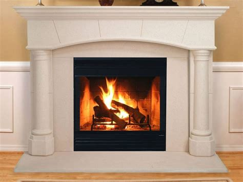traditional fireplace wood burning closed hearth energy