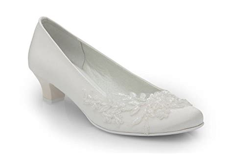 Pumps Ivory Spitze by Flache Brautschuhe In Ivory Bei