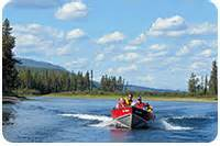 fishing boat rental whitehorse wilderness highway cbell hwy at frances lake yukon