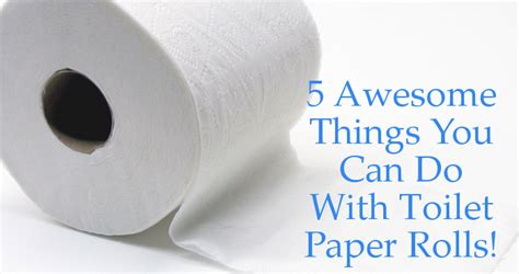 Crafts You Can Do With Toilet Paper Rolls - 5 awesome things you can do with toilet paper rolls