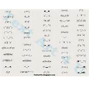 Smiley Faces Text Emoticons