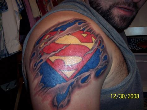 superman tattoo on chest superman tattoos designs ideas and meaning tattoos for you