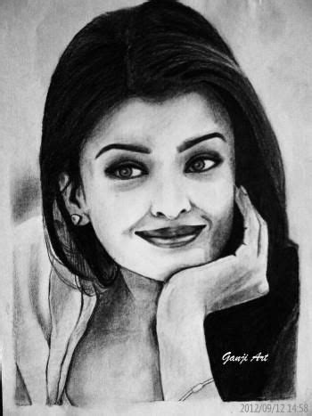 """Aish"" #Creative #Art in #sketching @Touchtalent http"