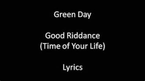 download mp3 good riddance time of your life good riddance time of your life lyrics green day