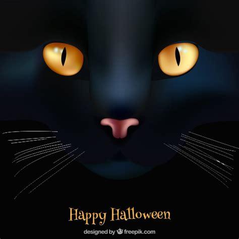 imagenes en negro de halloween fondo de feliz halloween con gato negro descargar