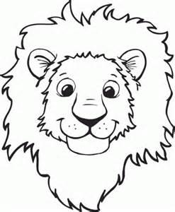 what color are lions imagenes de leones para colorear dibujos a lapiz