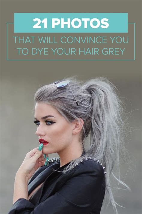 how to bring out grey hair 134 best cool grey hair images on pinterest hair colors