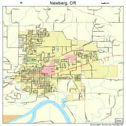 newberg oregon map 4152100