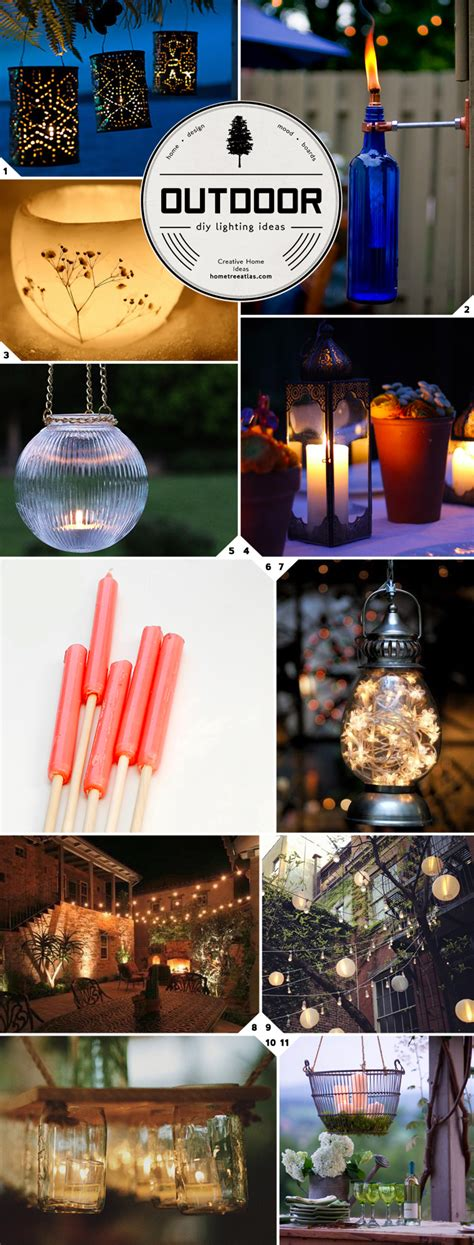 diy backyard lighting ideas getting crafty diy outdoor lighting ideas home tree atlas