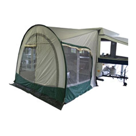 A E Systems Awning by A E Systems Cabana Dome Awning Green 191556 Rv