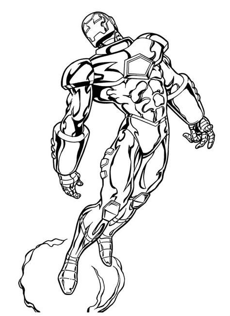 Free Marvel Comic Coloring Pages