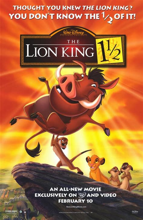 film the lion king 1 lion king 1 1 2 movie posters from movie poster shop