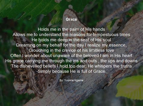 Grace 2 Syari pearls of grace poetry infinite grace