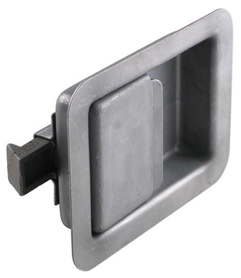Trailer Door Latch by Size Non Locking Steel Flush Door Latch Redline