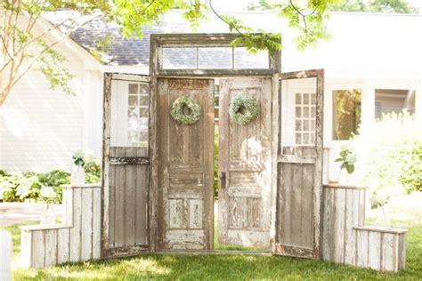 Wedding Doors by 25 Best Ideas About Outdoor Wedding Doors On