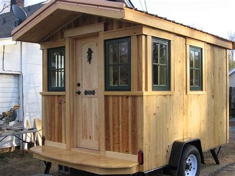 micro tiny house frank s diy micro cabin on wheels interview and tour