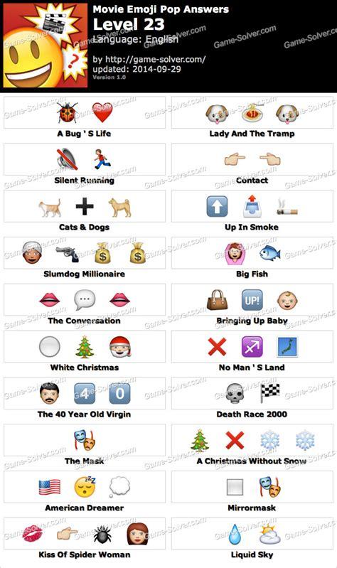 film emoji game movie emoji pop level 23 game solver