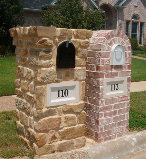 house mailbox design brick mailbox design options information pictures brick doctor ideas for the