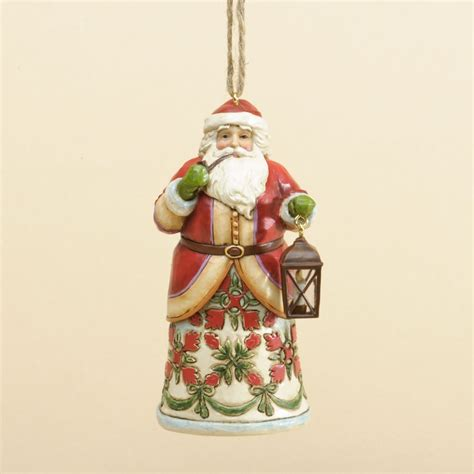 jim shore williamsburg colonial santa christmas ornament
