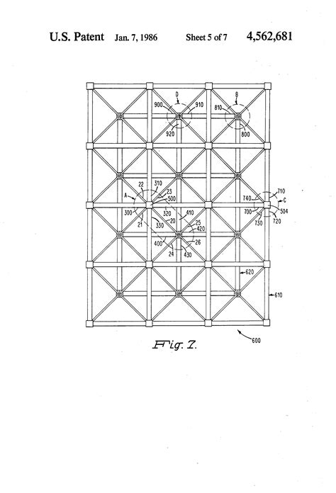picture frame sections patent us4562681 web section for a space frame google