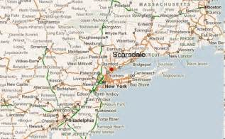Scarsdale New York Map by Scarsdale Location Guide