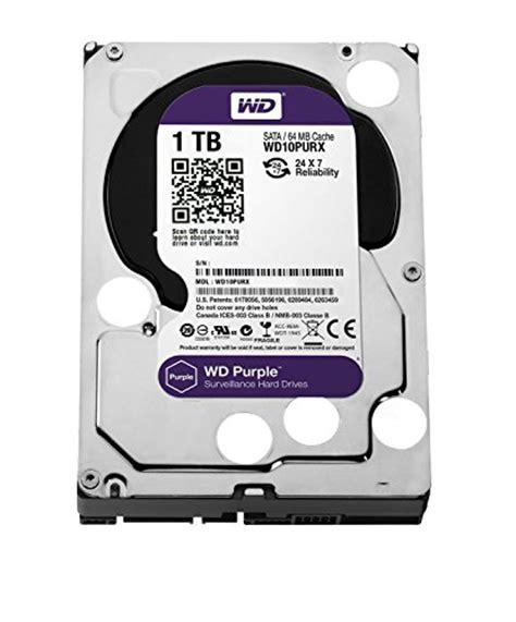 Hardisk Wd Purple 1tb wd purple 1tb surveillance disk drive 5400 rpm class sata 6 gb s 64mb cache 3 5 inch