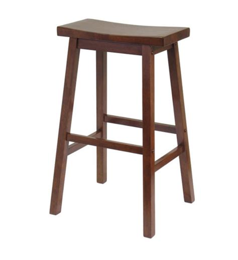29 Inch Bar Stool 29 Inch Saddle Bar Stool Antique Walnut In Saddle Bar Stools