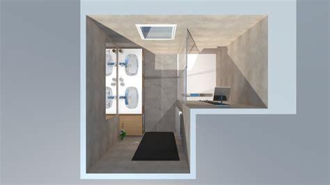 Salle De Bain Blanche Et Bois salle de bain bois beige blanc gris avec italienne