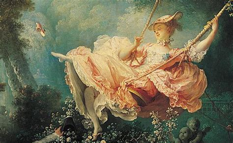fragonard the swing 1767 historicals the of the decadents and the