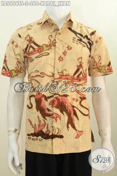 Batik Hem Ikan baju hem batik modis motif kapal dan ikan busana batik modis untuk kawula muda proses tulis