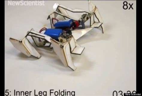Origami Robots - real transformers robot can build itself and walk