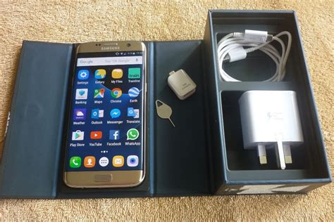 Murahhh Samsung Galaxy S7 Edge Gold Platinum samsung galaxy s7 edge gold platinum lte 32gb 4g unlocked