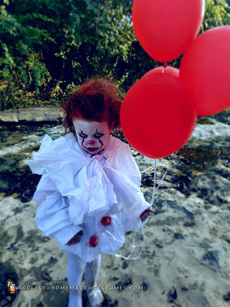 cutest diy pennywise costume