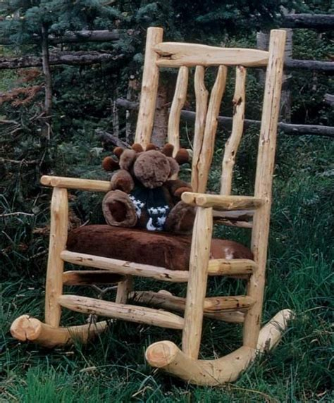 rustic rocking chair kit 17 best ideas about rustic log furniture on
