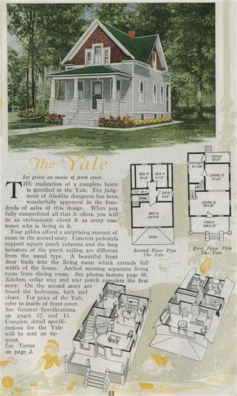tiny house plan clipped gabled cottage aladdin kit 17 best images about kit homes on pinterest house plans