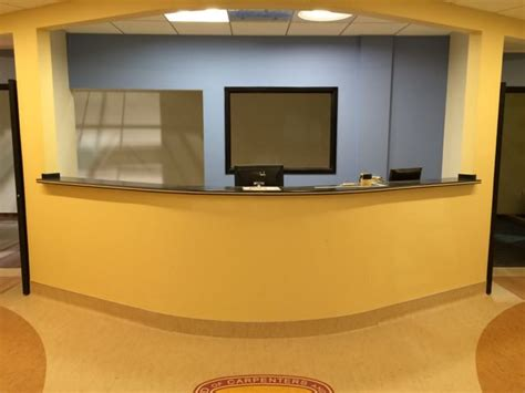 hospital front desk united brotherhood of carpenters tour us building products