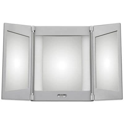 Tri Fold Makeup Vanity Mirror by Buy Jerdon Tri Fold Lighted Magnification Mirror From Bed
