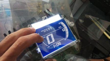 Sm 13 Set Biru Tua modifikasi speedometer nmax mazpedia
