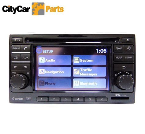 nissan qashqai j10 car stereo sat nav lcn connect cd