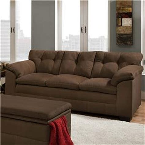 sears outlet sofas simmons upholstery 6765pk velocity espresso sofa