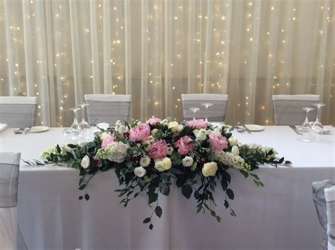 Wedding Table Flower Arrangement by Wedding Bridal Table Arrangement Flower Wholesalers